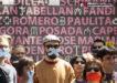 Imagen A.A. Performance contra la ley mordaza 2014