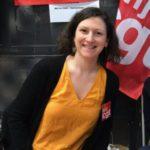 La periodista francesa Aurélie Constant.