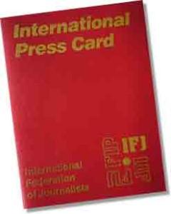 Cané internacional de Prensa.