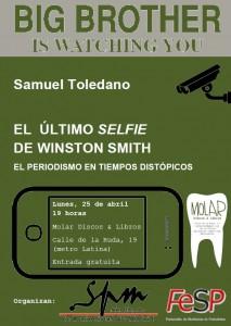 Conferencia-coloquio de Samuel Toledano