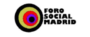 Logotipo del Foro Social de Madrid.