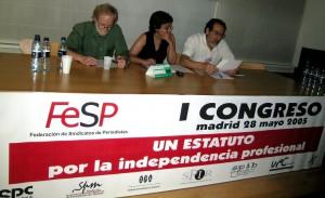 La FeSP exige garantizar la independencia profesional ya desde su I Congreso.