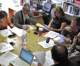 Reunión de trabajo de la FeSP
