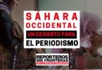 Sahara Occidental, un desierto para el periodismo. RSF.org